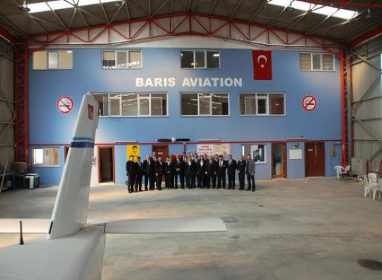 Şaban Baş havacılık akademisi kurdu