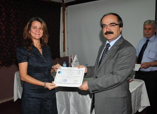 60 kursiyere sertifika