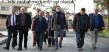 ÜNLÜCE MAHALLESİ ASFALTLANIYOR