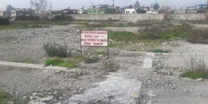 DEVLET HASTANESİ YIKILDI, BU TABELA KALDI!