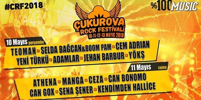 ROCK FESTİVALİ 10-13 MAYIS'TA ADANA'DA