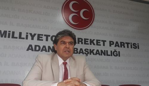 MHP İL BAŞKANI AVCI'DAN KARALAR'A ÇAĞRI VAR