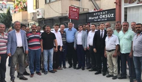 MHP ADANA'DA SEÇİM GEZİSİNDE