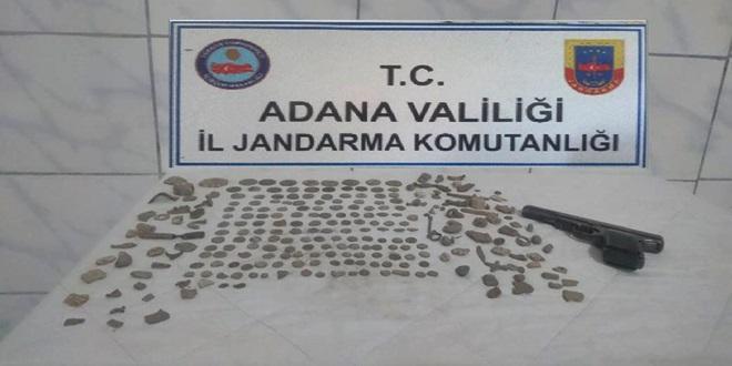KOZAN'DA 180 SİKKE