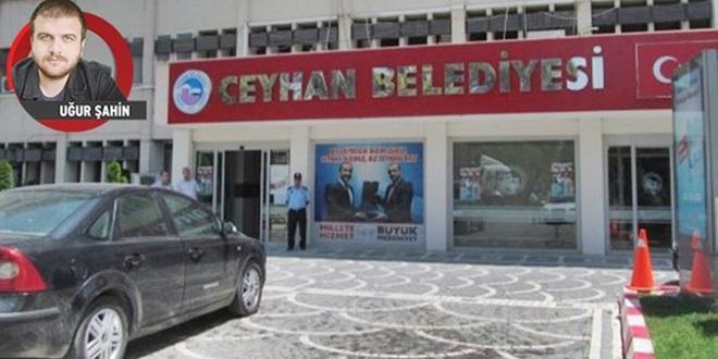 SAYIŞTAY RAPORUNDA AKP'Lİ CEYHAN BELEDİYESİ