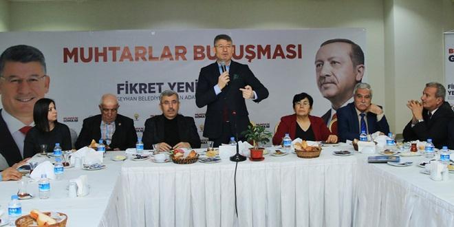 AKP'Lİ YENİ: SEYHAN'I YÖNETMEYE TALİBİZ