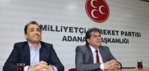 """ADANA'DA MHP VE AKP'DEN  """"BİRLİK BERABERLİK"""" MESAJI!"""