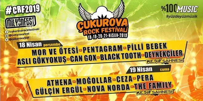 3.ÇUKUROVA ROCK FESTİVALİ BAŞLIYOR