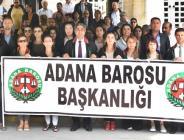 ADANA'DA PROTESTO EDİLDİ