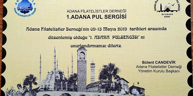 ADANA'DA PUL SERGİSİ