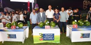 """""""ADANA 3. KARPUZ FESTİVALİ""""NDE RENKLİ GÖRÜNTÜLER"""