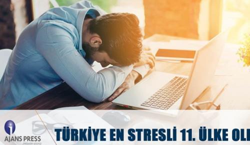 TÜRKİYE'DE STRES YÜZDE 52 ARTTI!