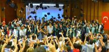 107 İnşaat Mühendisi Çukurova Üniversitesi'nden Mezun Oldu