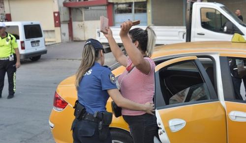 POLİSTEN YÜREĞİR'DE GENEL UYGULAMA