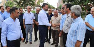 AKP PARTİ MİLLETVEKİLLERİ DE SAHADA!