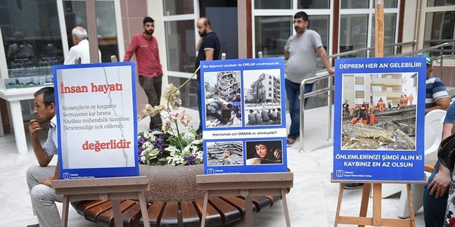 """""""DEPREME DUYARLILIK"""" SERGİSİ"""