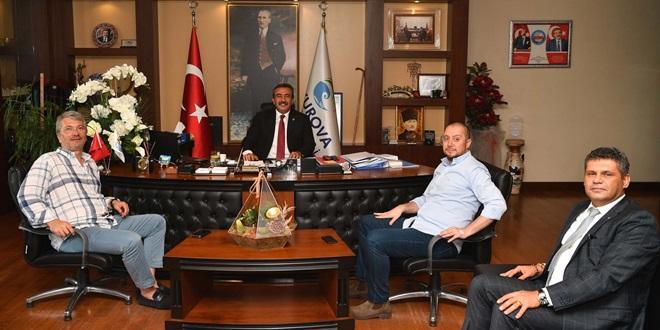 ÇETİN'DEN ADANASPOR'A KOMBİNE DESTEĞİ