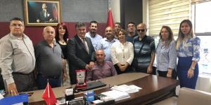 GÜNEŞ'E ENGELLİ MECLİSİNDEN PLAKET