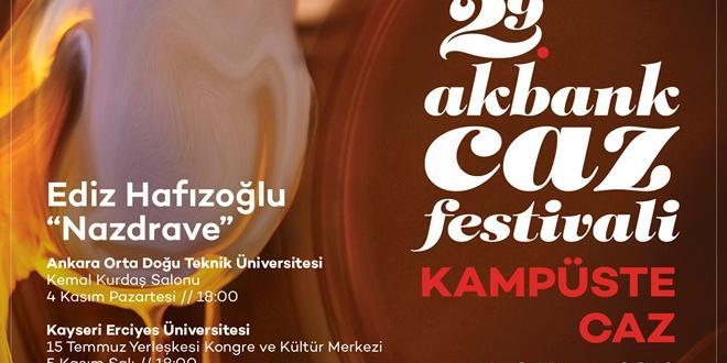 CAZ FESTİVALİ 7 KASIM'DA ÇUKUROVA ÜNİVERSİTESİNDE