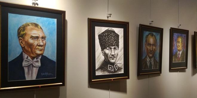 "KUDRET SÖNMEZ'DEN ""AKDENİZ BAKIŞLI ADAM"" SERGİSİ"