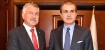 CHP'Lİ KARALAR'A ÖMER ÇELİK İLE AKP'DEN ÜST DÜZEY ZİYARET
