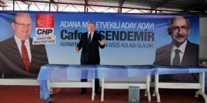 CHP DELEGESİ ÇGC'YE BAŞKAN SEÇİLDİ