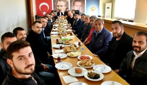 ESNAF AK PARTİ İL BİNASINDA