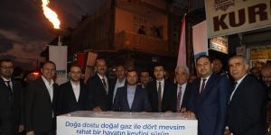 YÜREĞİR LEVENT MAHALLESİ'NDE 2.400 KONUT DOĞALGAZA KAVUŞTU