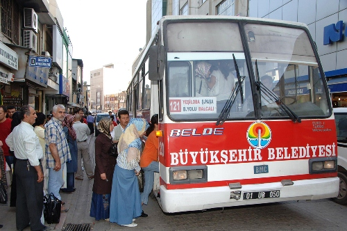 Bayramda toplu taşıma ücretsiz  !