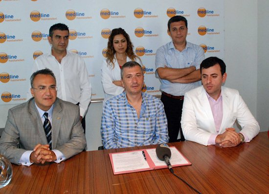 Adanaspor'un  sağlığı Medline emanet