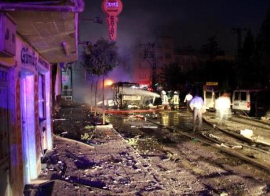 Gaziantep'i kana buladılar 8 ölü
