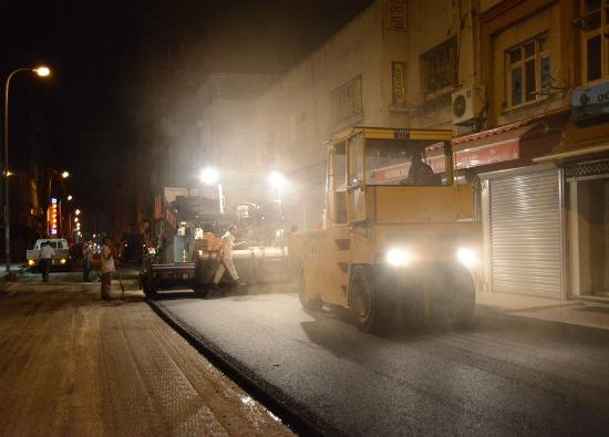 Abidinpaşa Caddesi asfaltlandı