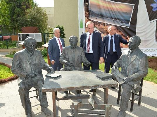 Alman Büyükelçisi Adana'da
