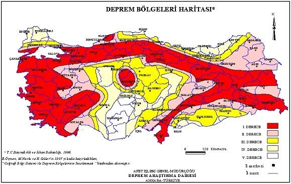 Adana 1. Derece deprem bölgesine alınması gerekiyor