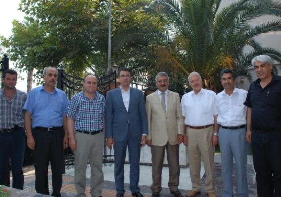 Erdinç'ten bürokrat ziyareti