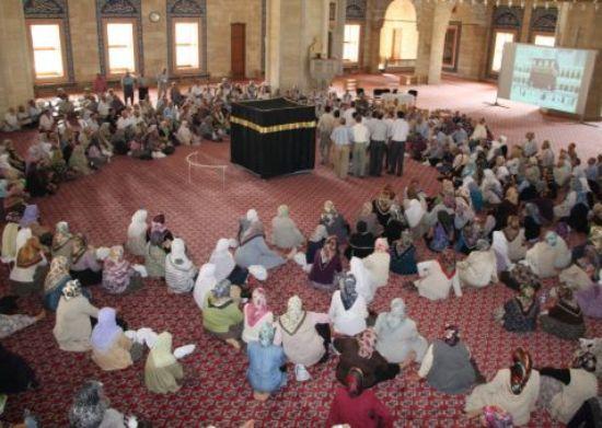 Hacı adaylarına eğitim