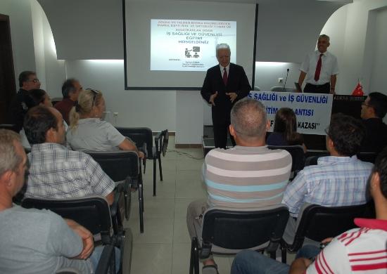 Karoculara İş Sağlığı ve İş Güvenliği semineri