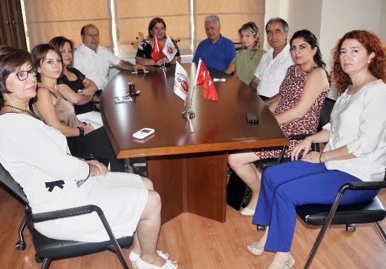 CHP'den İŞKAD ziyareti