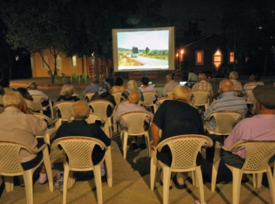 Altın Koza'dan öğrencilere film gösterimi