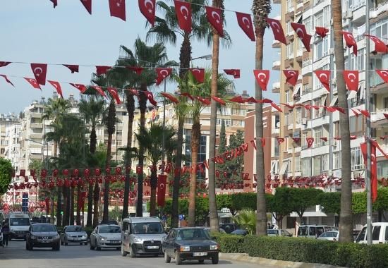 Adana'da cumhuriyet Bayramı Coşkusu