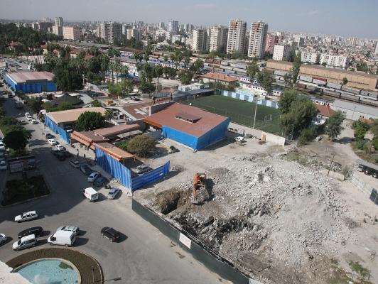 ADS binasının yıkımı tamam sıra bulvarda