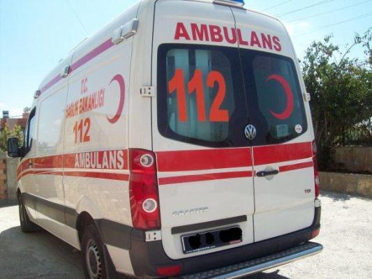 3 ambulans hizmet dışı