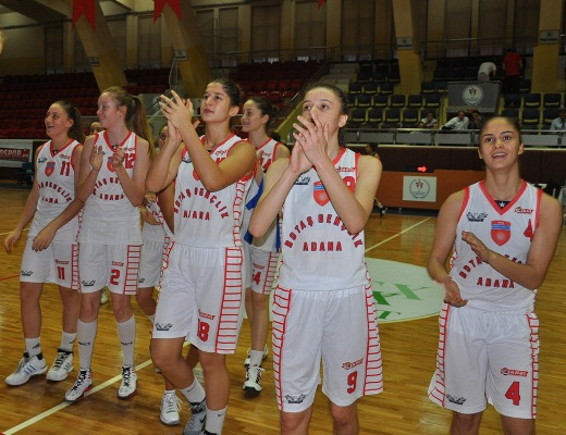 Adana Botaş Gençlik: 71 – 55 Gençlik Spor: 58