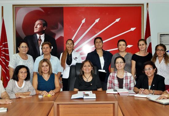 CHP'li Kadınların bölge toplantısı