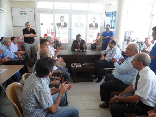 Karakuş'tan Çetin'e destek