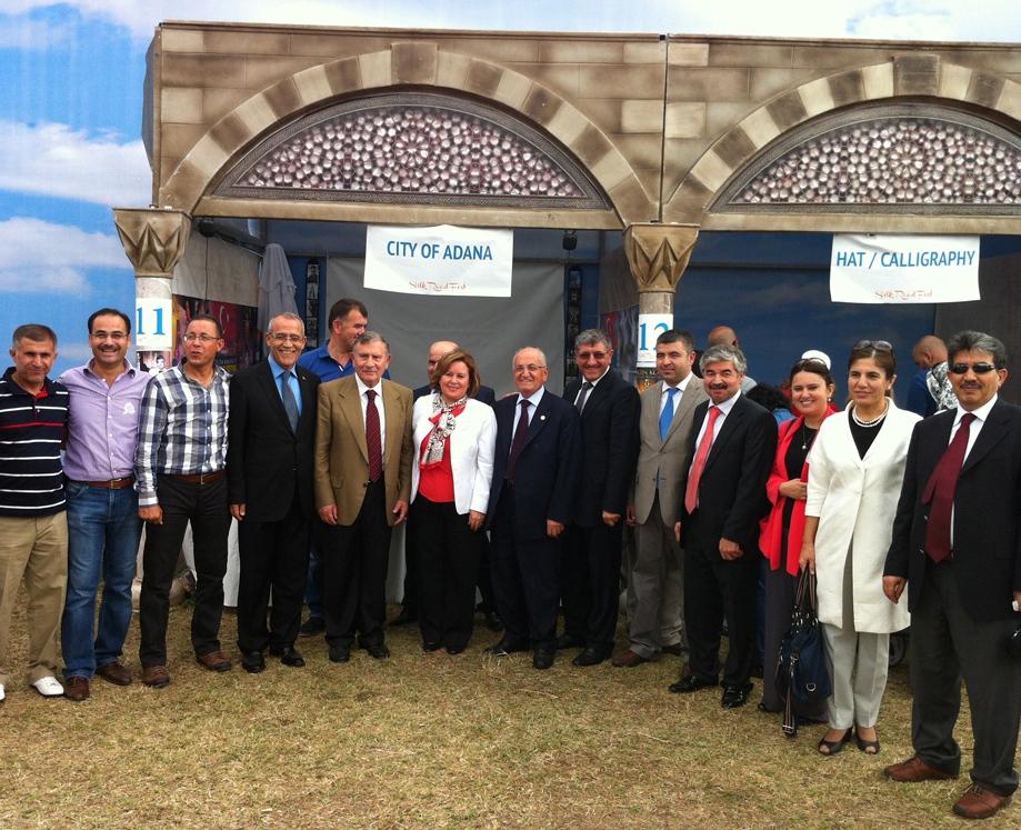 İpekyolu festivalinde Adana'yı kimler ziyaret etti?