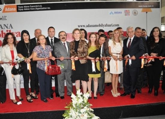 TÜYAP 6. Mobilya Dekorasyon Fuarı Adana'da Açıldı