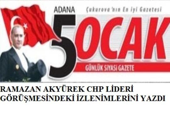 Kılıçdaroğlu'nun aday profili