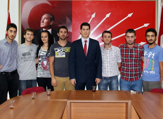 Anafarta, CHP'li gençlerle buluştu