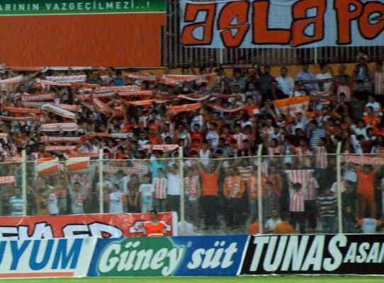 Adanaspor-Rize maçına hazır